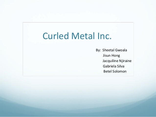 cumberland metal industries case