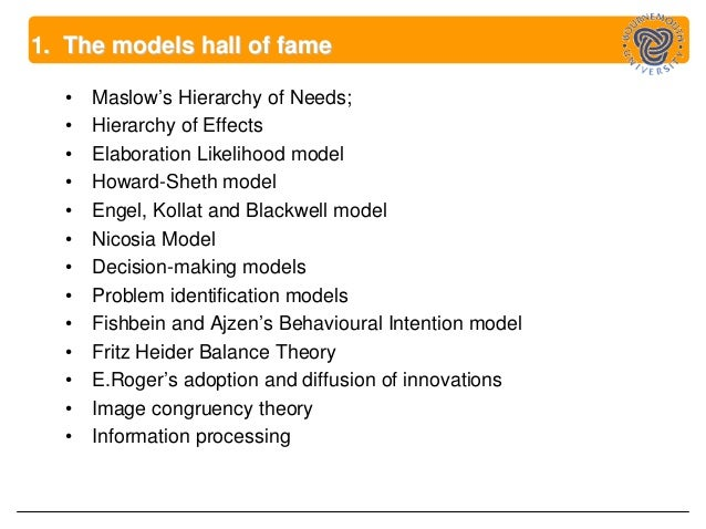 howard sheth model of consumer Models of consumer behaviour – howard sheth model howard sheth model: this model was proposed by keeping both the industrial & consumer products, in order to give an understanding about great variety of behaviours it shows the rational brand choice behaviour by buyer under conditions of incomplete.