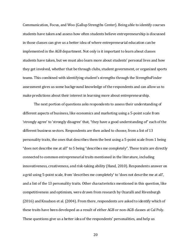 20 Communication,Focus,andWoo(GallupStrengthsCenter).Beingabletoidentifycourses studentshavetakenandasses...