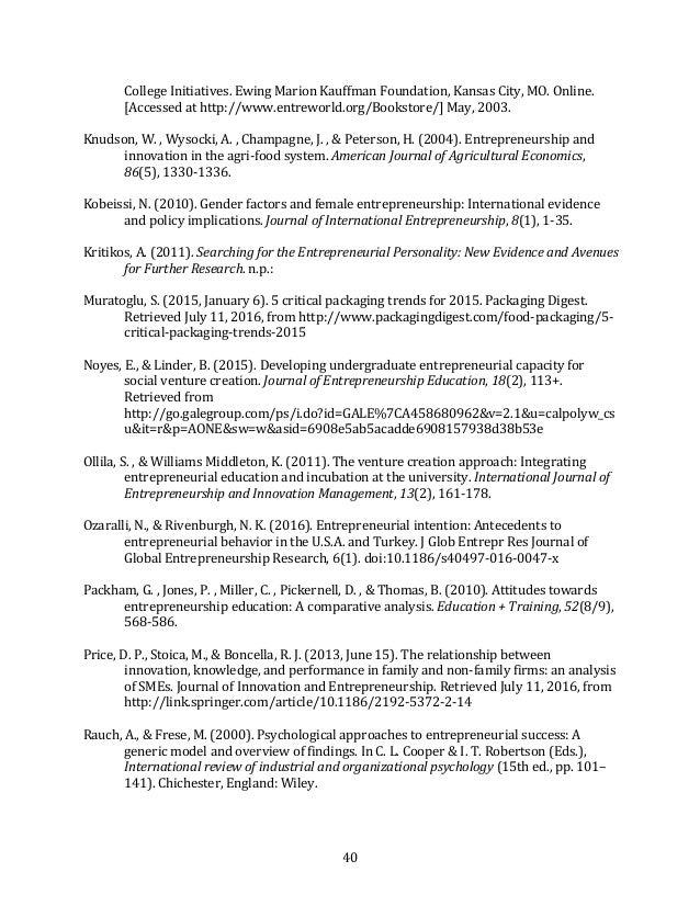 40 CollegeInitiatives.EwingMarionKauffmanFoundation,KansasCity,MO.Online. [Accessedathttp://www.entreworld.or...