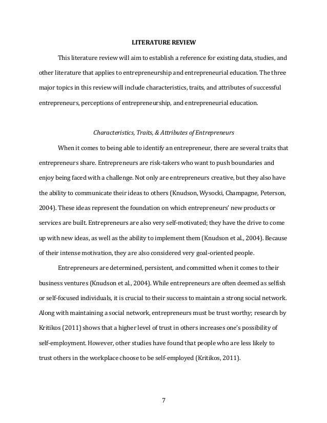 7 LITERATUREREVIEW Thisliteraturereviewwillaimtoestablishareferenceforexistingdata,studies,and otherlite...
