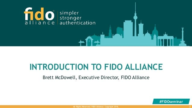 Introduction to FIDO Alliance