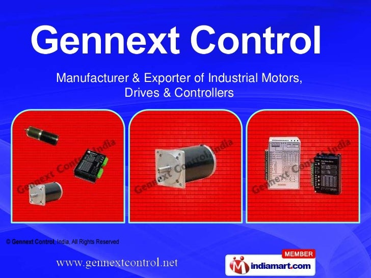 Manufacturer & Exporter of Industrial Motors,           Drives & Controllers