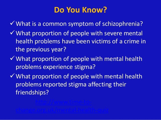 Mental illness in people with learning disabilities and schizophrenia essay