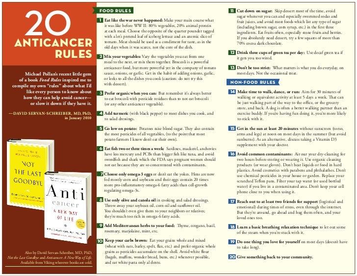 20 anti cancer rules final
