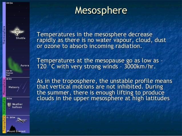 Image Gallery Mesosphere Atmosphere