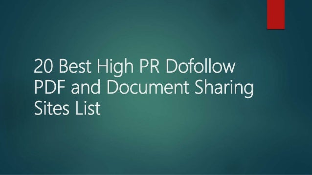 pdf sharing sites list 2016