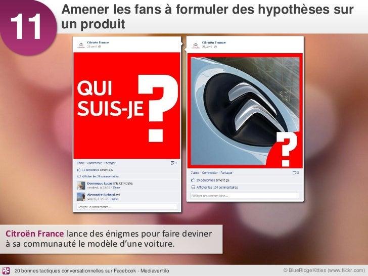 Amener les fans à formuler des hypothèses sur11                   un produitCitroën France lance des énigmes pour faire de...
