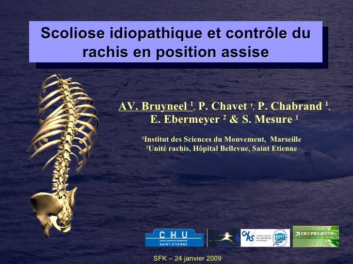 AV. Bruyneel  1 ,  P. Chavet  1 ,  P. Chabrand  1 , E. Ebermeyer  2  & S. Mesure  1 1 Institut des Sciences du Mouvement, ...