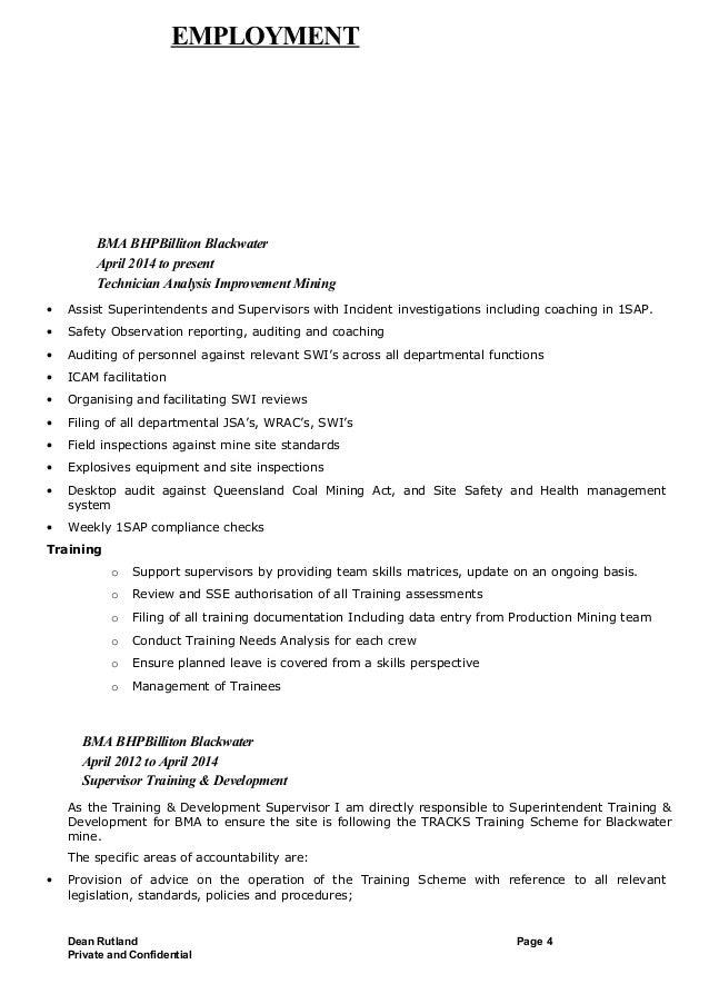 dean rutland resume