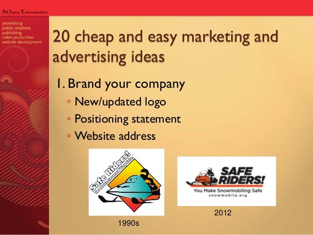 3d9e7059f0 20 cheap and easy marketing and advertising ideas