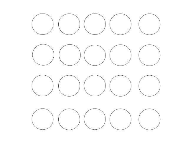 20 circles