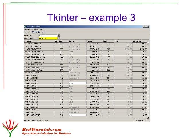 tkinter tutorial python 3
