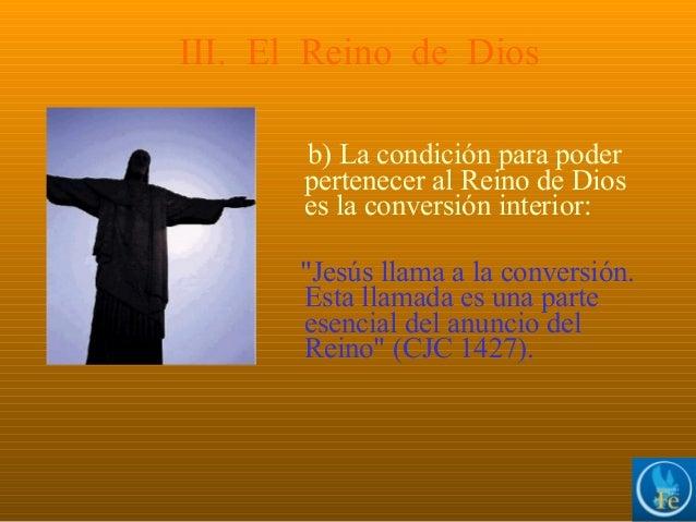 Resultado de imagen para 1427 Jesús llama a la conversión. Esta llamada es una parte esencial del anuncio del Reino: