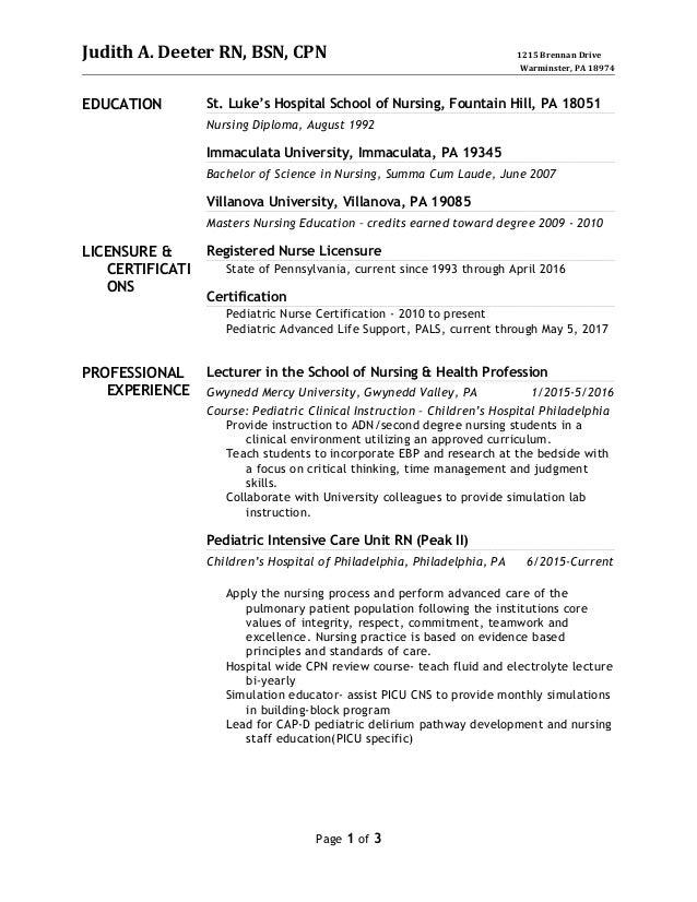 Judith New Resume October 2016