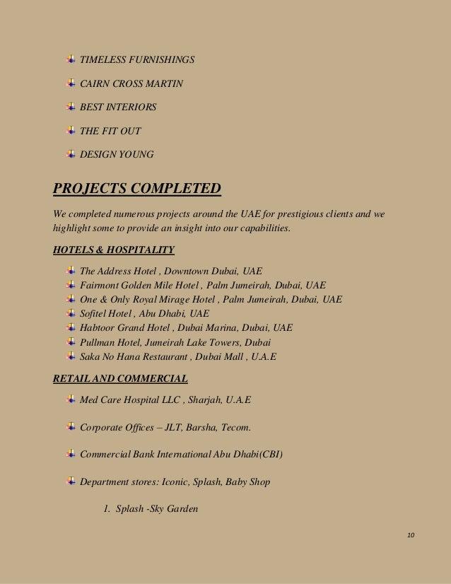 Pre qualification 2016 saraya furniture manufacturing llc for Hispano international decor llc abu dhabi