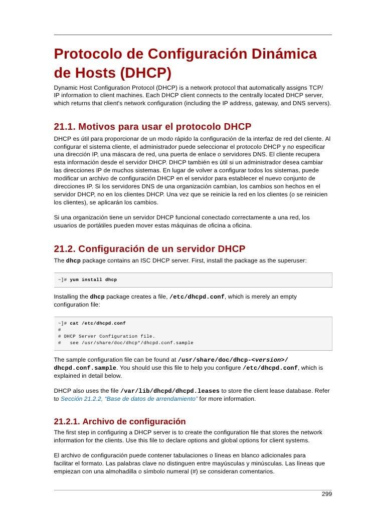 Protocolo de Configuración Dinámica de Hosts (DHCP) Dynamic Host Configuration Protocol (DHCP) is a network protocol that ...