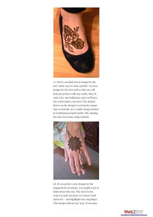 20 easy and simple mehndi designs that you can do by yourself 9 17 need a mehndi tattoo design solutioingenieria Image collections