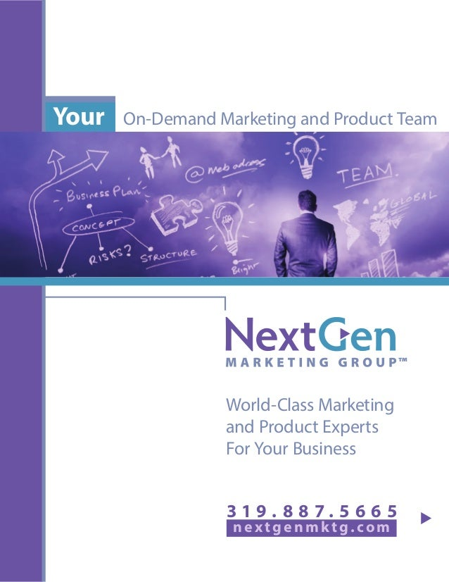 On-Demand Marketing and Product TeamYour nex tgenmktg.com World-Class Marketing and Product Experts For Your Business 3 1 ...