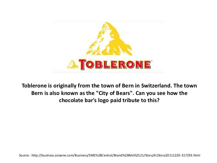Toblerone Is Originally From The