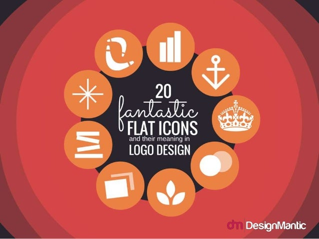 20 Fantastic Flat Icons and Their Meaning In Logo Design