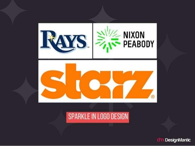 Sparkle in logo design.