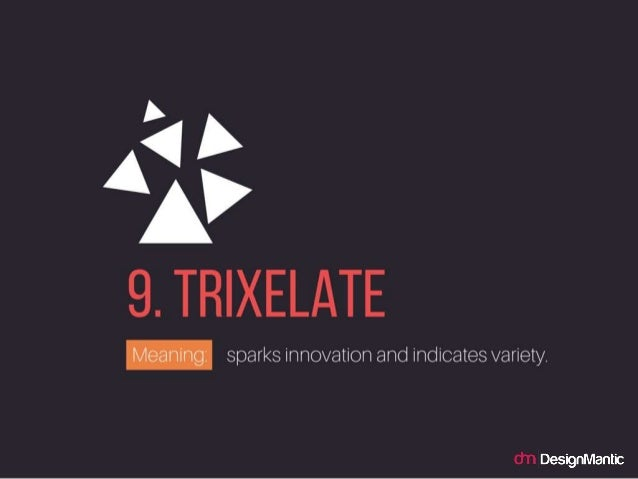 Trixelate: sparks innovation and indicates variety.