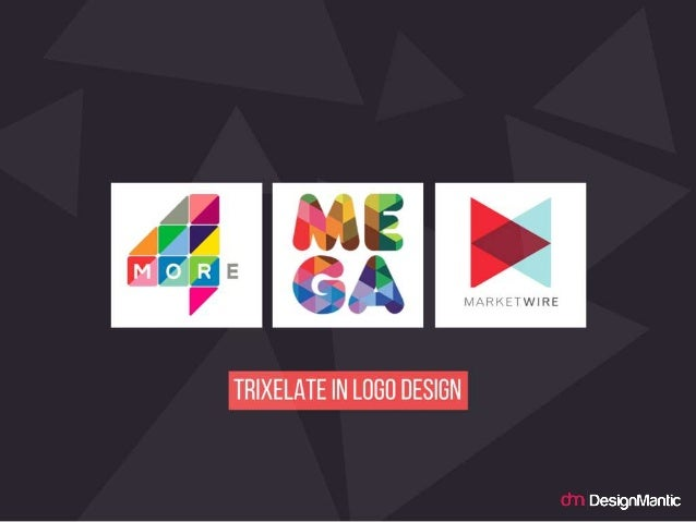 Trixelate in logo design.