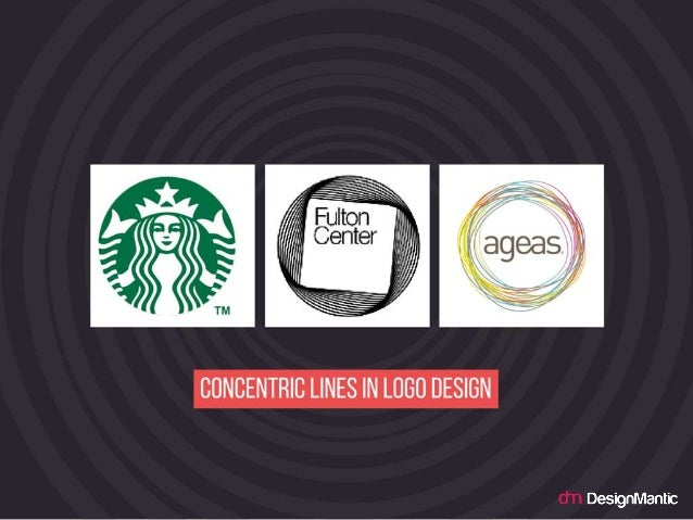 Cocentric Lines in logo design.