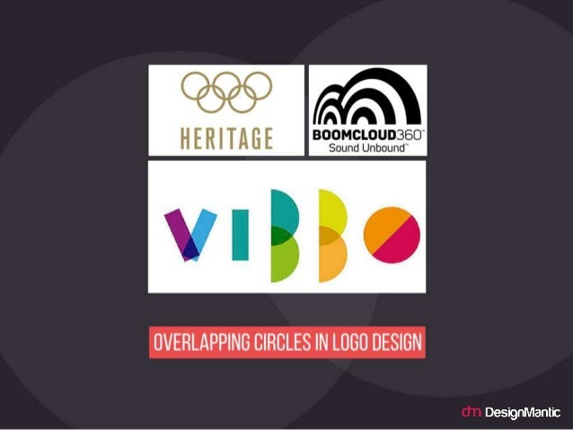 Overlapping Circles in logo design.