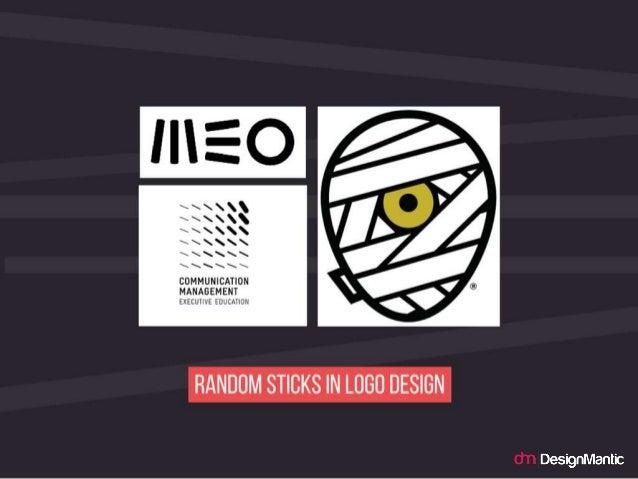 Random Sticks in logo design.