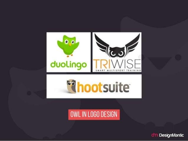Owl in logo design.