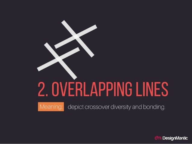 OVERLAPPING LINES: depict crossover diversity and bonding.