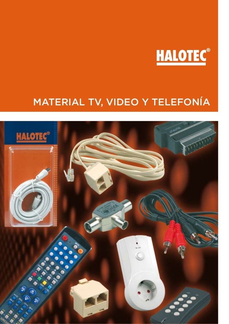 MATERIAL TV, VIDEO Y TELEFONÍA