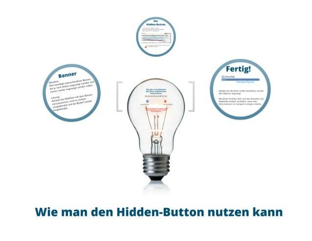 SharePoint Lektion #20: Der Hidden-Button