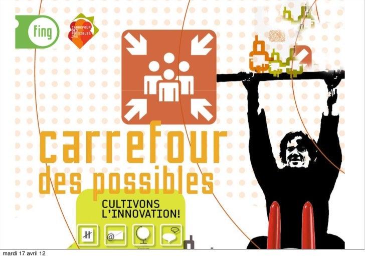 """20 idées pour le futur """"café carrefour"""""""