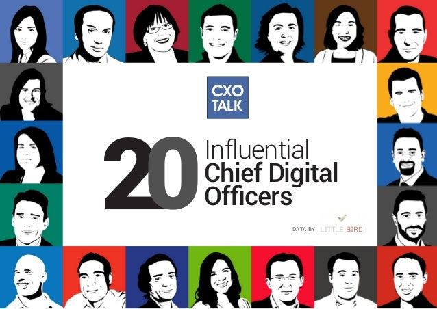 Influential Chief Digital Officers DATA BY TALK CXO