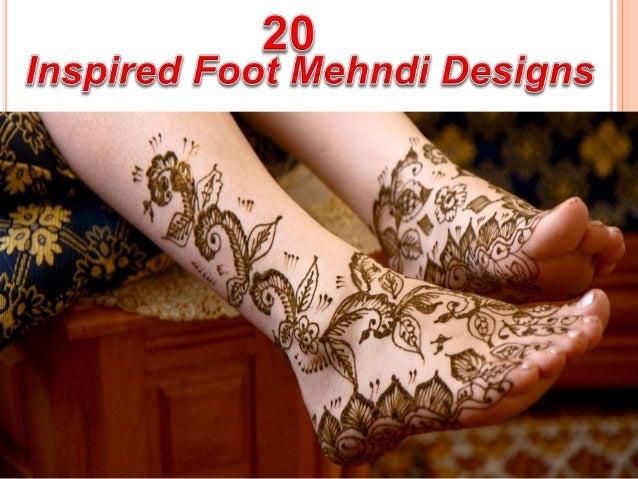 Mehndi For Foot : 20 inspired foot mehndi designs u2013 stylish and trendy