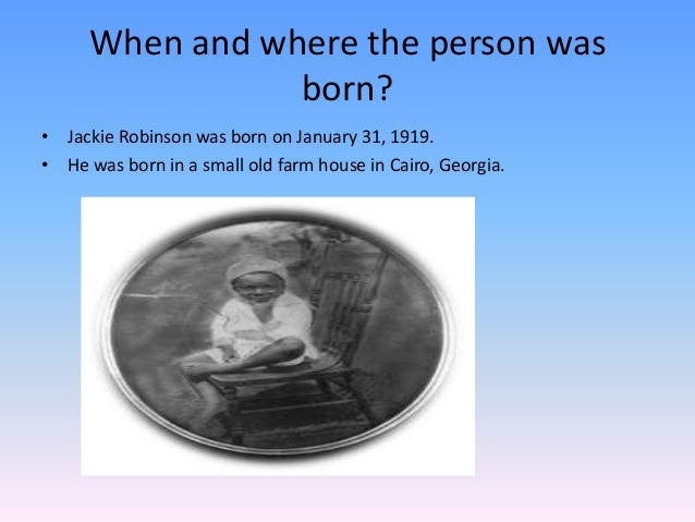 Jackie Robinson (1919-1972)