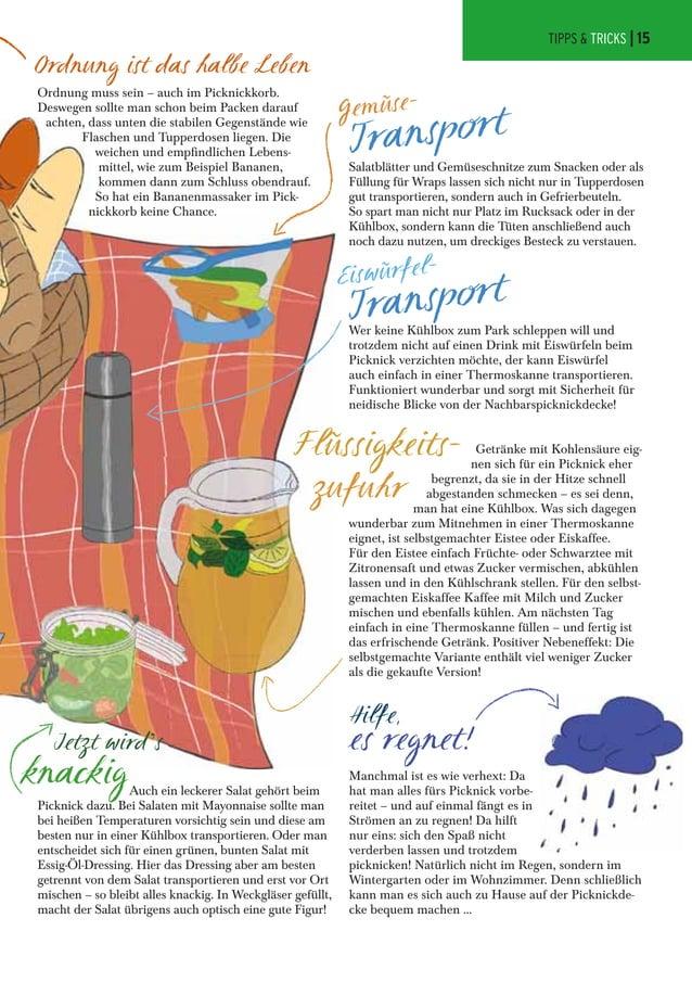 Jetzt wird's knackig Hilfe, es regnet! Eiswürfel- Transport Gemüse- Transport Ordnung ist das halbe Leben Auch ein leckere...