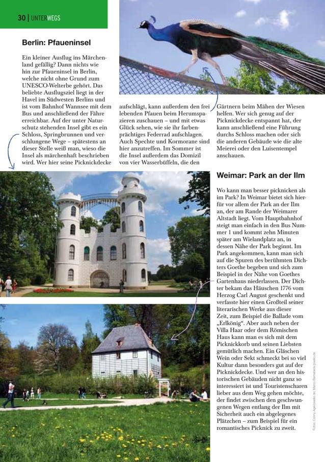 Weimar: Park an der Ilm Wo kann man besser picknicken als im Park? In Weimar bietet sich hier- für vor allem der Park an d...
