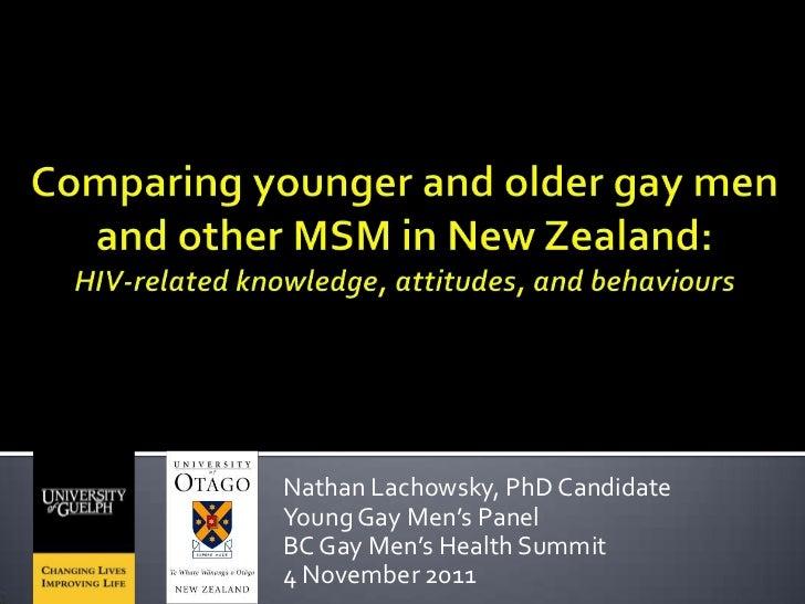Nathan Lachowsky, PhD CandidateYoung Gay Men's PanelBC Gay Men's Health Summit4 November 2011