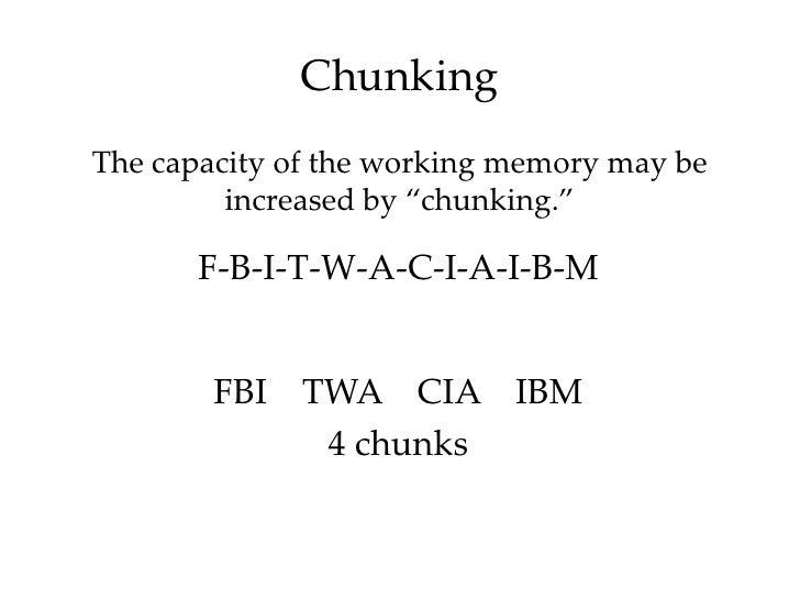 psychology letter memory experiment pdf