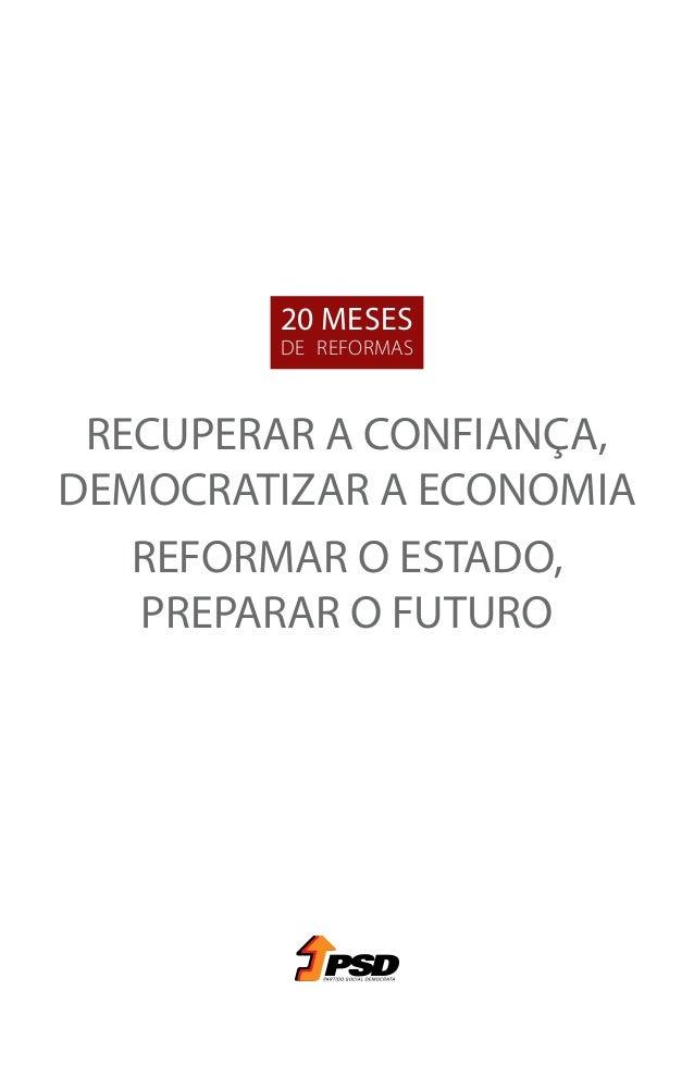 20 Meses de Reformas pelo PSD Slide 3