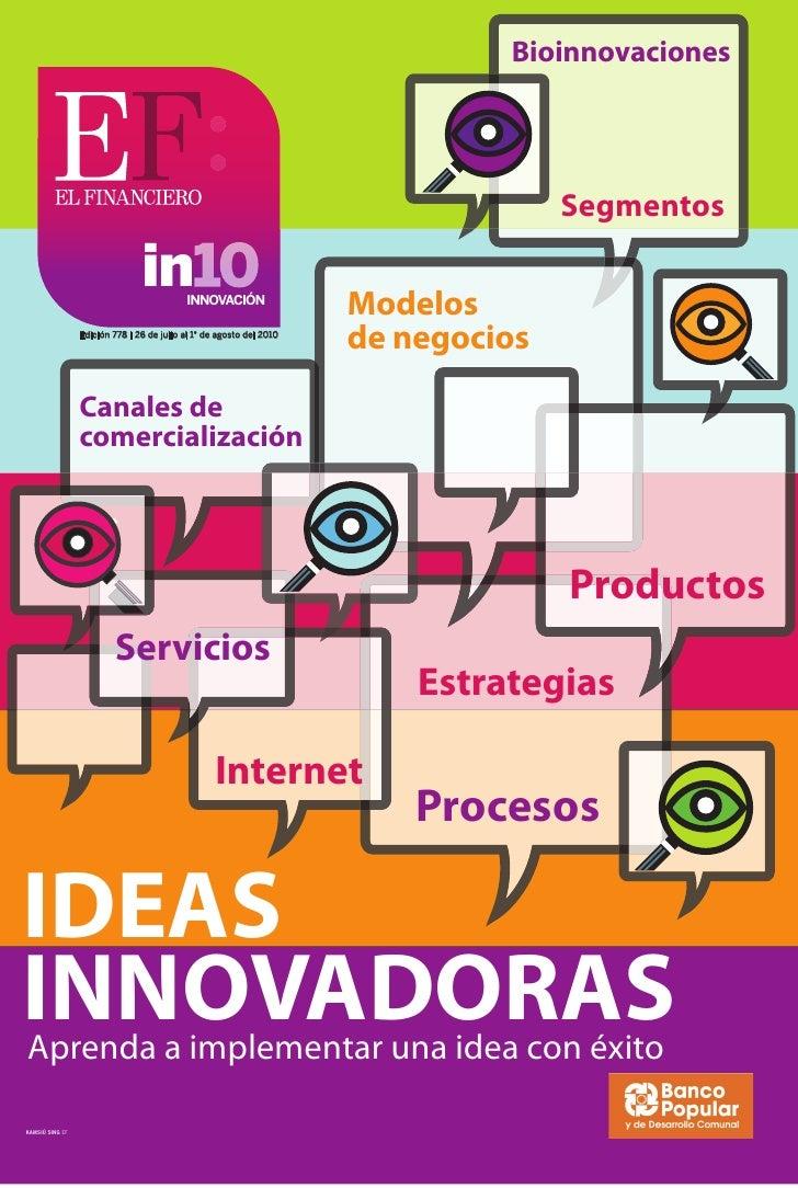 20 Most Innovative Ideas 2010