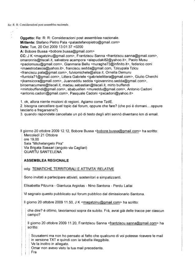 postl{e: R: R: Considerazioni assemblea                                 nazionale        Oggetto: Re: R: R: Considerazioni...