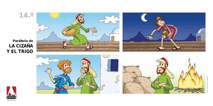 Resultado de imagen para imagenes de la parabola del trigo y la cizaña para niños