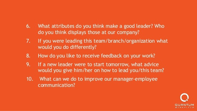 20 Questions to Ask in Effective Performance Management Conversations