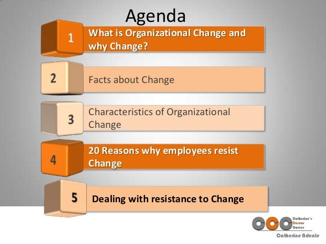 20 Reasons Why Employees Resist Change in the Workplace Slide 2