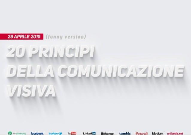 20 regole della comunicazione visiva (funny version)